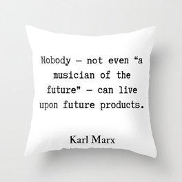 60   Karl Marx Quotes   190817 Throw Pillow