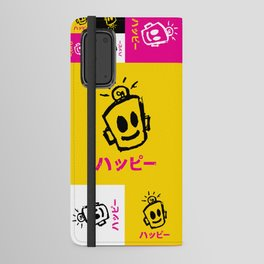 HAPPY Japanese Android Wallet Case