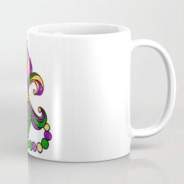 Mardi Gras Fleur D Lis Coffee Mug