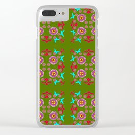 Tiles and Mosaics Clear iPhone Case
