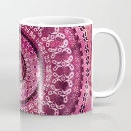 Vintage Burgundy Mandala Coffee Mug