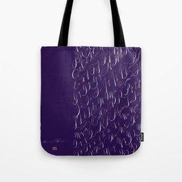 Spencerian Handwrite Tote Bag