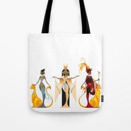 The Divas of Egypt Tote Bag