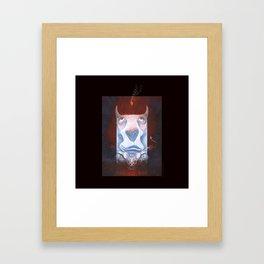 Handsome Devil Framed Art Print