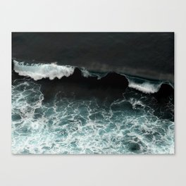 tropical storm Canvas Print