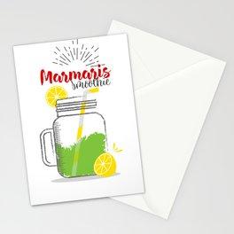 Marmaris: Summer, sun, sea & smoothies Stationery Cards