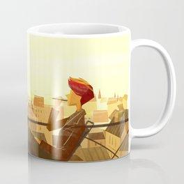 eiffel tower in paris Coffee Mug