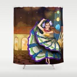 Fêtival delles Cuartos Shower Curtain