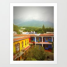 View From the Roof Art Print