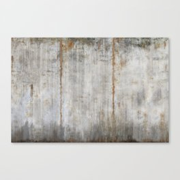 Concrete Wall Canvas Print