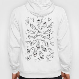 Just Breathe Hoody