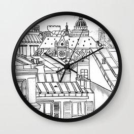 Parsian roof Wall Clock