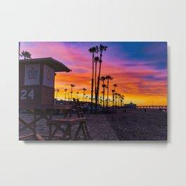 Dawn at Tower 24 Metal Print