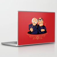 battlestar Laptop & iPad Skins featuring Frakking Awful by Matt Dearden