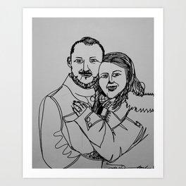 New York, old love Art Print