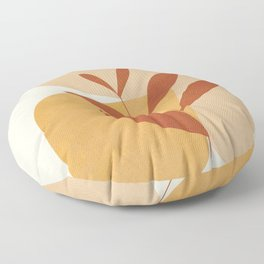 Abstract Shapes No.18 Floor Pillow