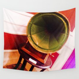 Phonograph to tango. Wall Tapestry