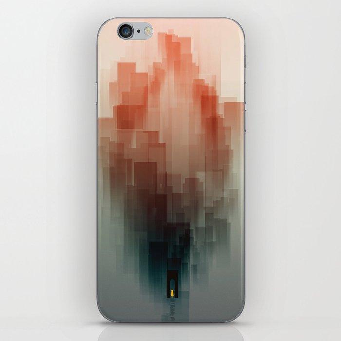 Heart Temple iPhone Skin