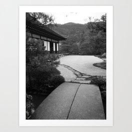 Japanese Garden Art Print