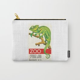 1935 Chameleon ZOO Advertising Poster Carry-All Pouch