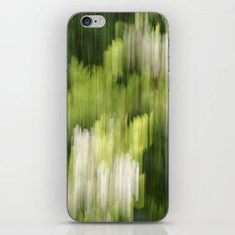Green Hue Realm iPhone Skin