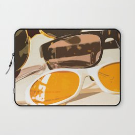 Let the sun shine - welcome spring and summer! Laptop Sleeve