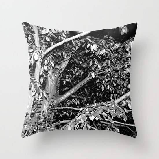 House of Horrors  Throw Pillow