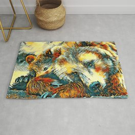 AnimalArt_Bear_20170602_by_JAMColorsSpecial Rug