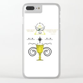 - Psalm 91:2 Clear iPhone Case