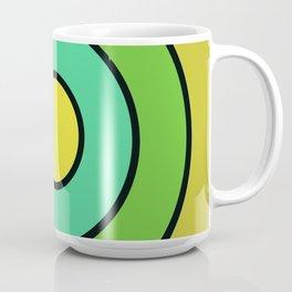 yellow target Coffee Mug