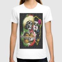 dia de los muertos T-shirts featuring Dia de Los Muertos by Kevin Rogerson