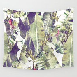 Misty Mountains of Pintuyan: Banana Grove #Vintage Wall Tapestry