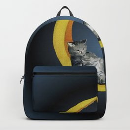 Cat and Moon Backpack