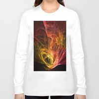 fractal Long Sleeve T-shirts featuring Fractal by jbjart