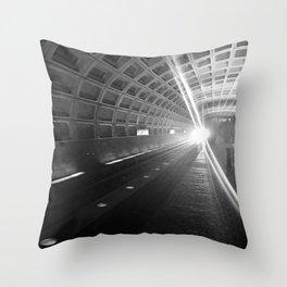 Capitol South Metro Throw Pillow