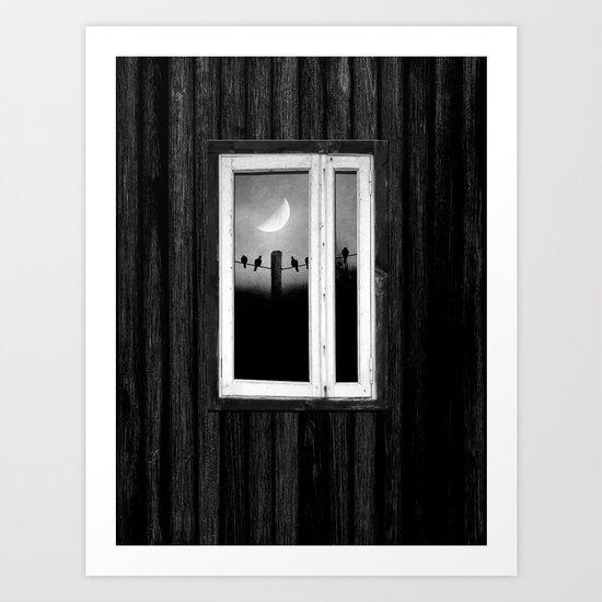 Minimal B&W I Art Print
