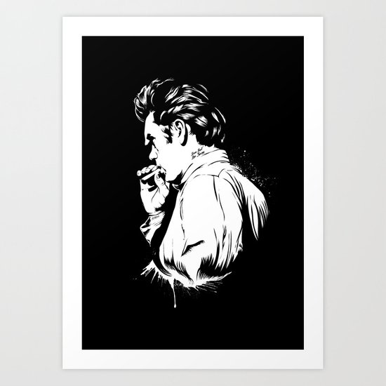 Live Fast Die Young Art Print
