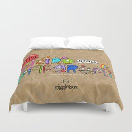 Stay Weird. Stay Different. Duvet Cover
