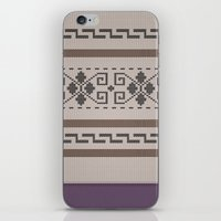 the big lebowski iPhone & iPod Skins featuring The Big Lebowski Cardigan  by Marvelis