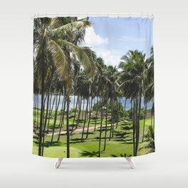 Sri Lankan Sea Shore Shower Curtain