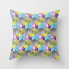 Tangrams Pattern Throw Pillow