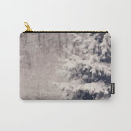Softly Fallen Snow Carry-All Pouch