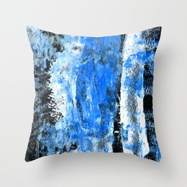 Mess abstract n.4 Throw Pillow