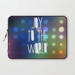 Joy to the World Laptop Sleeve