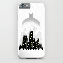 There, in the shadows!  iPhone Case