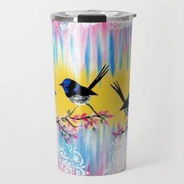 happy art Travel Mug