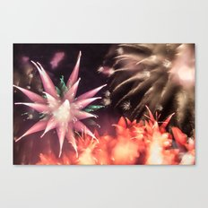 Fireworks - Philippines 2 Canvas Print