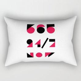 365 24/7 NOW Motivation Poster Rectangular Pillow