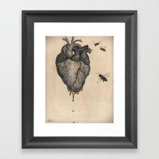 Sweet.Heart Framed Art Print