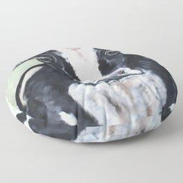 Holstein Cow Floor Pillow